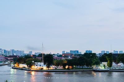 Palace of Thonburi (Wang Derm) & Wichai Prasit Fort