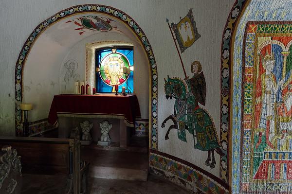 Castle chapel, Burg Berwartstein