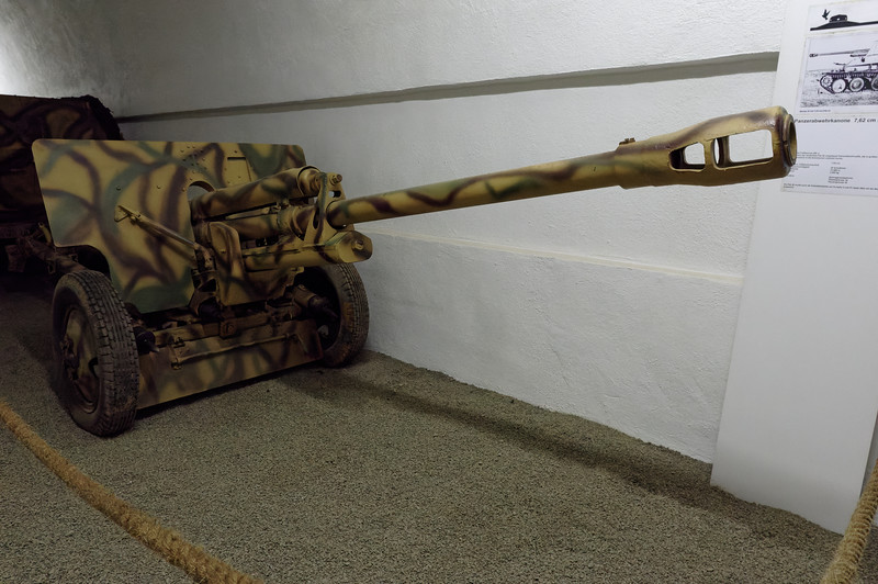 Captured Soviet Field Gun 295