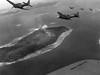 US Navy SBD Dauntless dive bombers