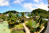 Palau Royale Resort, from our balcony. I enjoyed some uncommon luxury on this trip! No hostels, backpack or street food!