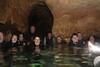 Group shot in Chandelier Cave