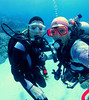 Underwater dive buddy selfies!