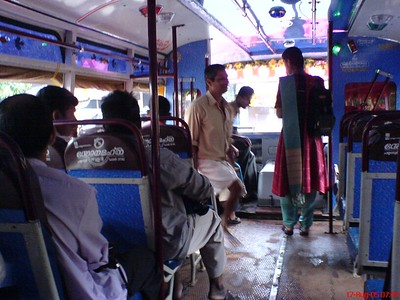 Inside the bus in my village, Pulingome