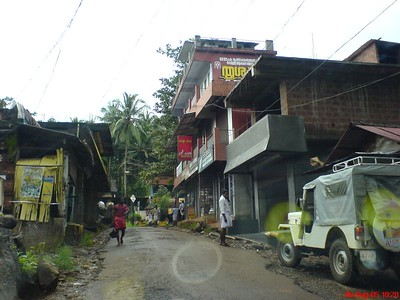 Small town near to my village and narrow roads, pulingome