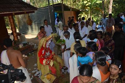 Hindu Ritual of Theyyam - Theyyattam - Thira