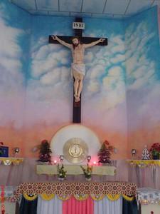 Jesus Christ, Inside the Church in my village, St. John's Church Palavayal