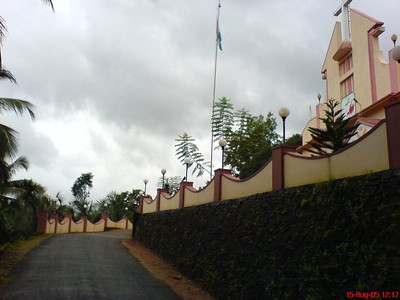 Side view of Church in my village, St. John's Church Palavayal