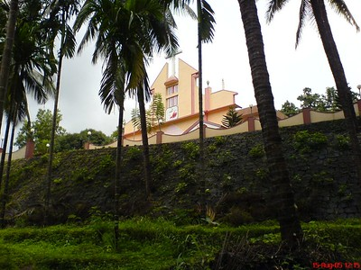 View of our Church in my village, St. John's Church Palavayal