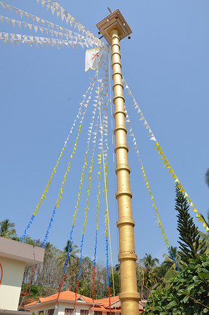 St Johns Church Palavayal - Festival Preparations - 2011