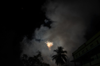 St Johns Church Palavayal - Festival 2011 Fireworks Celebrations