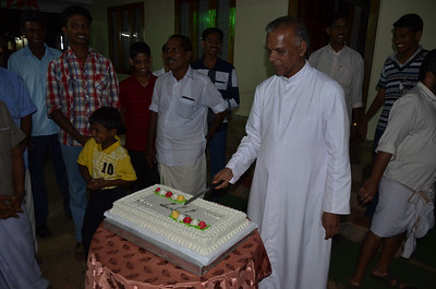 New Year 2012 Celebrations at St. Johns Church, Palavayal
