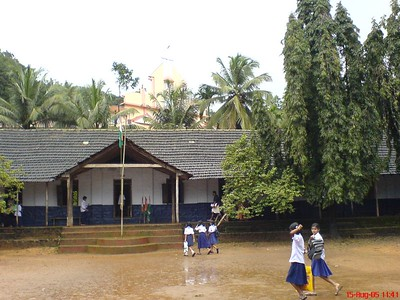 My School and school students in my Village, St. John's High School Palavayal