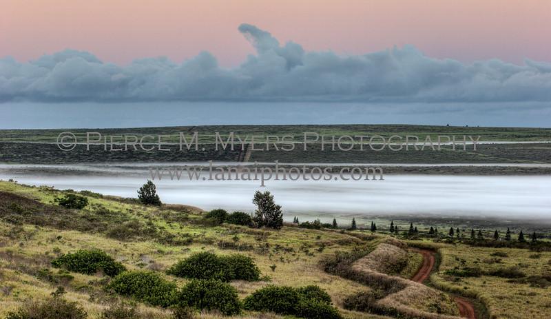 Palawai Basin Fog @ Sunrise 2