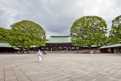 At Meiji-Shrine