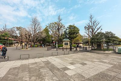 Statue of Takamori Saigo Ueno Park