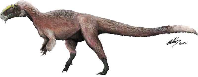 yutyrannus, individual, brian, choo