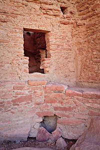 T-shaped doorway behind Kiva, River House