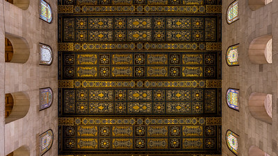 Ceiling of Al-Aqsa