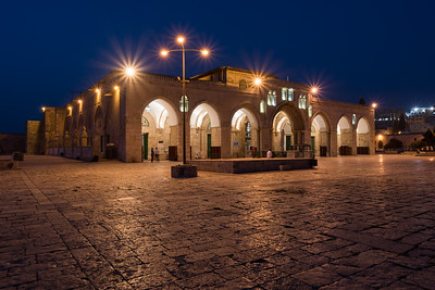 Blue Hour at Al-Aqsa Mosque
