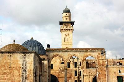 View from Al-Haram Al-Sharif, Jerusalem