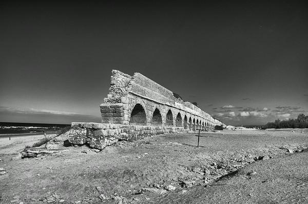 Aqueduct, Caeserea, Palestine / Israel