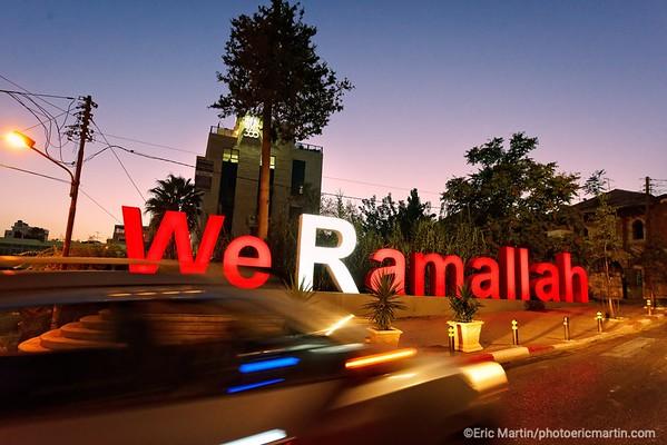 ISRAEL. PALESTINE. VILLE DE RHAMALLAH