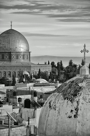Dome of the Rock - The Old City in Jerusalem, Palestine / Israel
