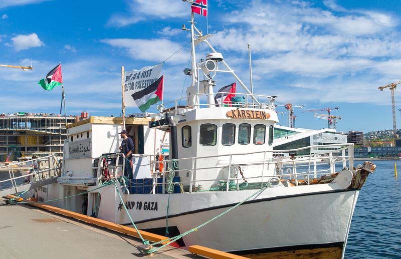Ship to Gaza - Oslo 2018
