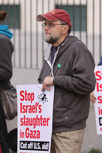 John Redeer member of the Green Party.  Statement by Green Party on the Israeli Palestinian Conflict    http://www.gp.org/press/pr-national.php?ID=571