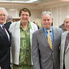 Stan Jacoby, Sr. Mary Eileen,  Ed Day,  Jim Hennessy