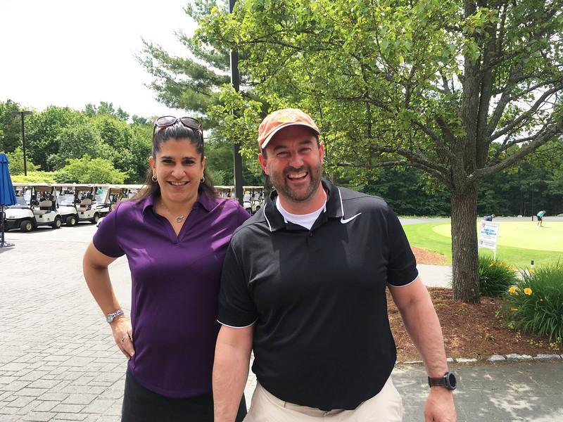 Sandi Parks of Lexington and Jonathan Dubois of Amherst