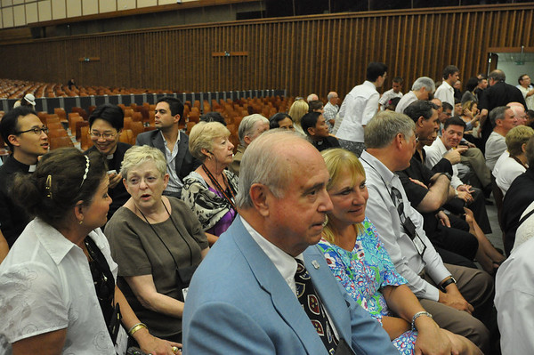Papal Audience 6/30/12