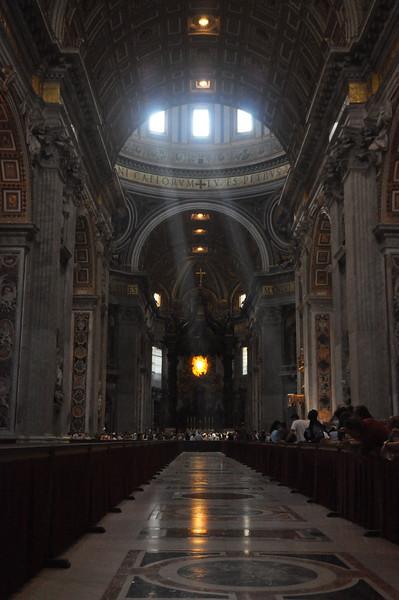 St. Peter's Basilica Tour 6/27/12