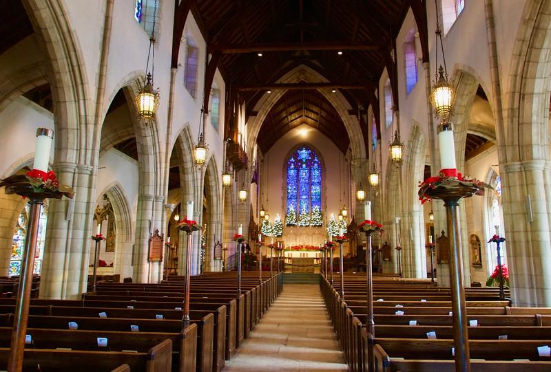 K atrakciám Palm Beach patrí aj tento kostol - mnohé celebrity tam mali svadbu, Donald Trump, basketbalista Michael Jordan ai.