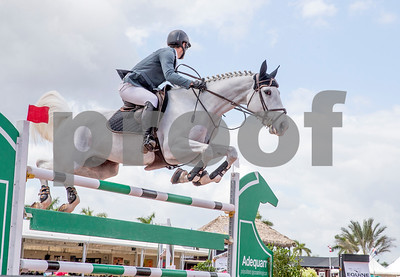 Jumping is one of the three Olympic equestrian sports