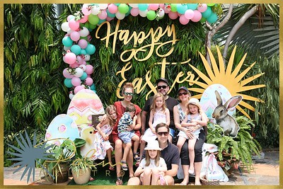 Palm Bistro Saigon - Happy Easter 2018 | WefieBox Photobooth Vietnam - Chụp ảnh lấy liền Sự Kiện Tiệc cưới