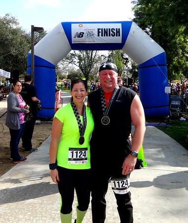 Palm Desert New Balance Charity Half Marathon and 5K Event, February 19, 2017