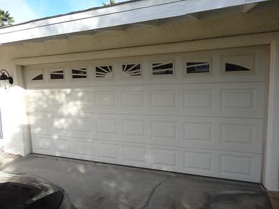 Before remodel. Garage door and lights were replaced.