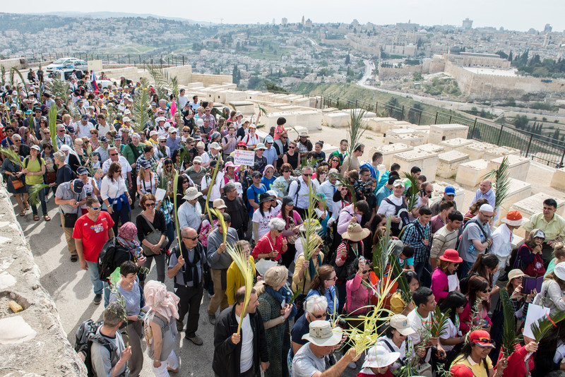 Palm Sunday - Jerusalem -April, 2014