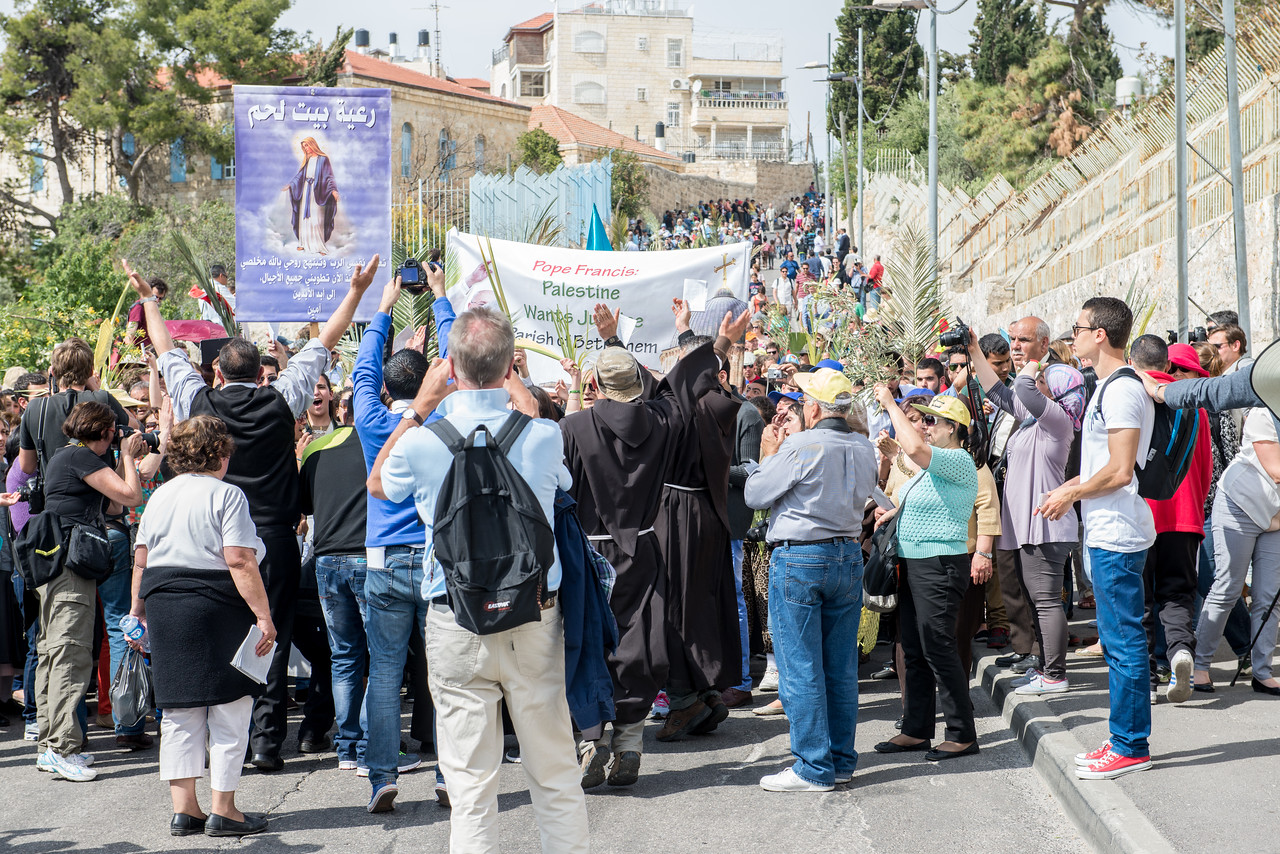 Palm Sunday - Jerusalem -April, 2014