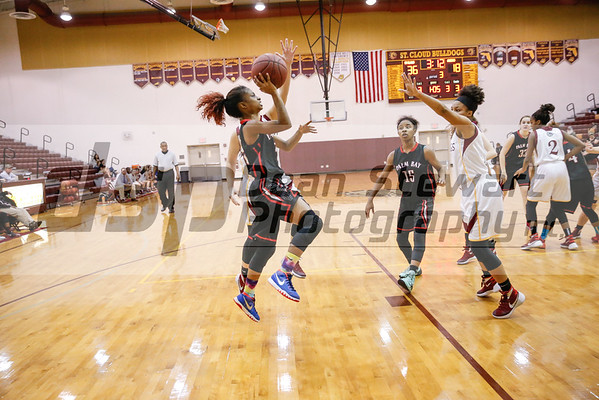 1-19-16 Palm Bay Girls Basketball at St Cloud