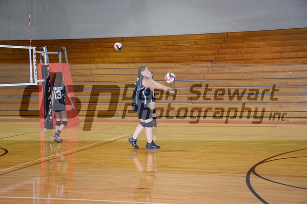 Freshman Volleyball - 9-20-2016