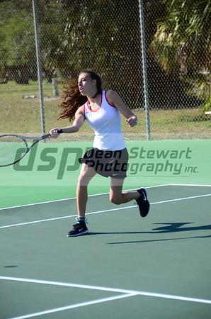 PBMHS Girl's Tennis 3-9-17