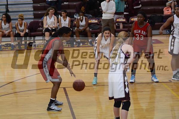 Palm Bay vs. St. Cloud Girls Basketball 1-19-16