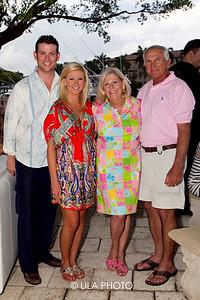 Evan & Jenna McDonough , Liisa & Donald Zaniewski
