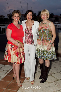 Randie Dalia, Dr. Andrea Hass, Allison Reckson