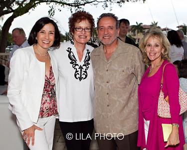 Dr. Andrea Hass, Peggy & Roger Rich, Debbie Johnson