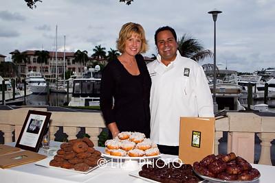 Karen Howe, Mark Frangione with Pelican Cafe