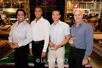 David Reyes, Rod Sawyer, Rudy Acevedo, Peter Diamon